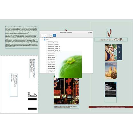 InDesign Pro - Gestion de blocs textes et images